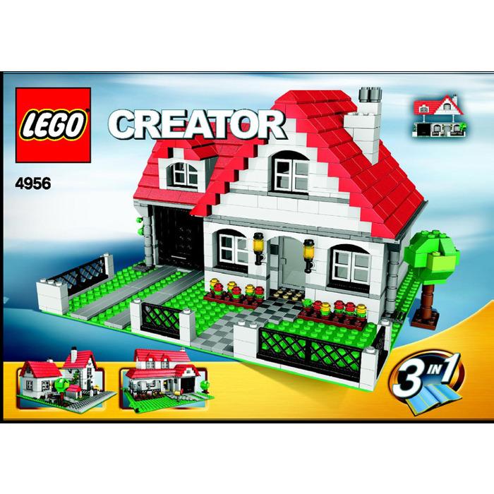 Lego House Set 4956 Instructions Brick Owl Lego Marketplace