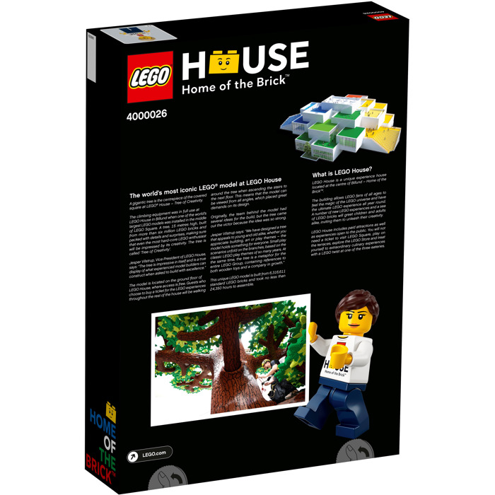 62 pieces #40096 Lego Spring Tree