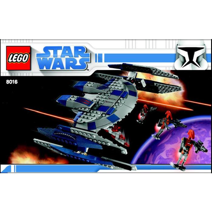 Lego Star Wars Battles 0 30 Apk: LEGO Hyena Droid Bomber Set 8016 Instructions