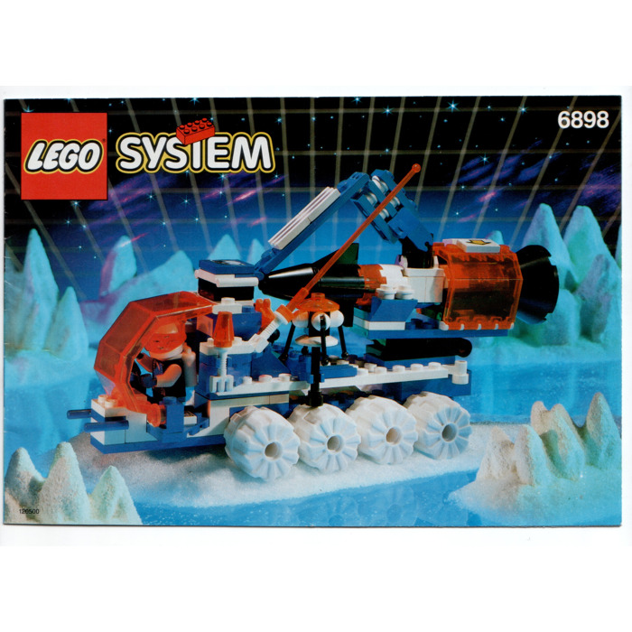 lego ice sat v set 6898 instructions - 6898