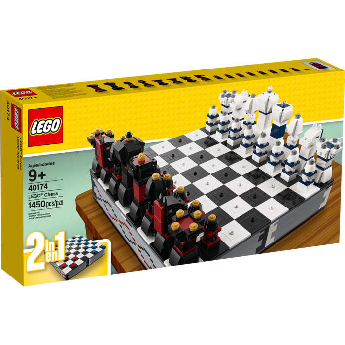 lego iconic chess set 40174 brick owl lego marketplace. Black Bedroom Furniture Sets. Home Design Ideas