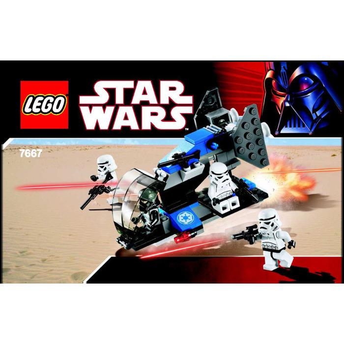 Lego Imperial Dropship Set 7667 Instructions Brick Owl Lego