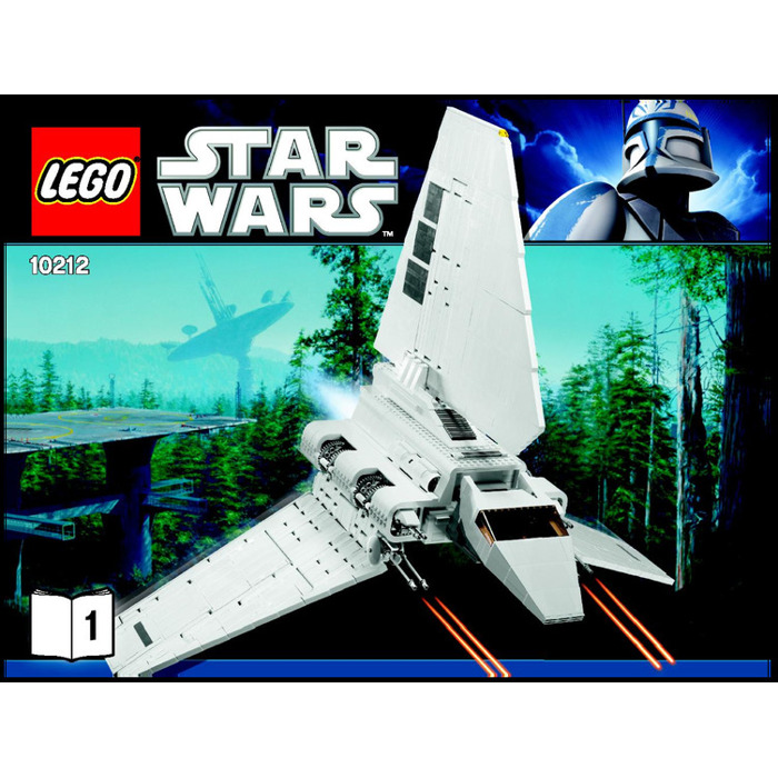 Lego Imperial Shuttle Set 10212 Instructions Brick Owl Lego