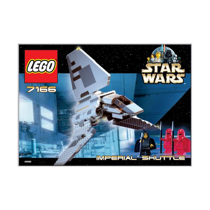 Lego Imperial Shuttle Set 7166 Instructions Brick Owl Lego
