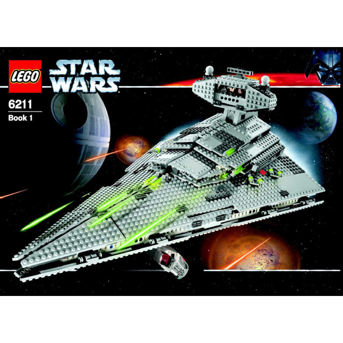 Lego Imperial Star Destroyer Set 6211 Instructions Brick Owl