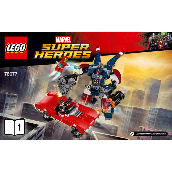 LEGO Iron Man: Detroit Steel Strikes Set 76077 ...