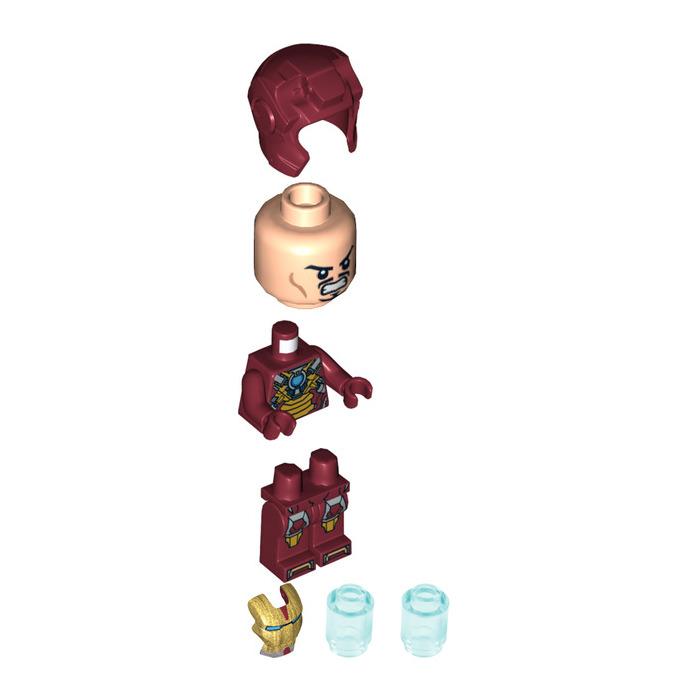 LEGO Iron Man in Heartbreaker Armour Minifigure | Brick ...