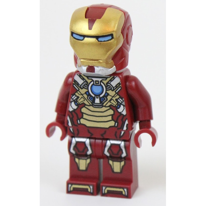 Lego iron man in heartbreaker armour minifigure brick - Lego iron man 3 ...