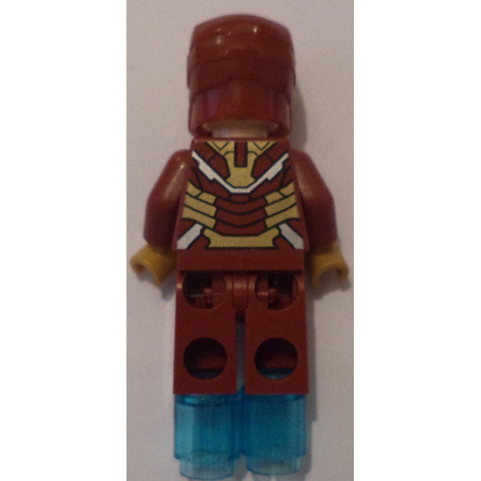 lego iron man mark 42 armor minifigure brick owl lego