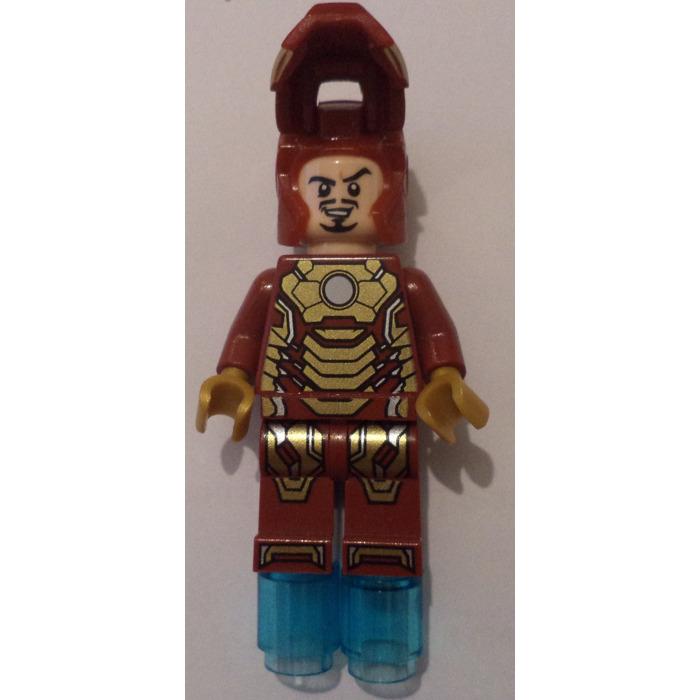 lego iron man mark 42 armor minifigure brick owl lego