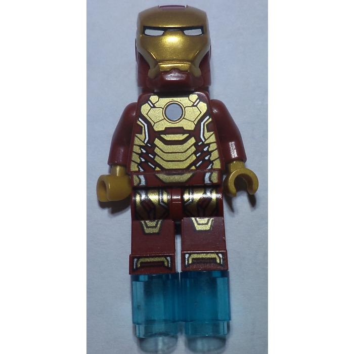 lego iron man mark 42 armor legs 14624 comes in brick