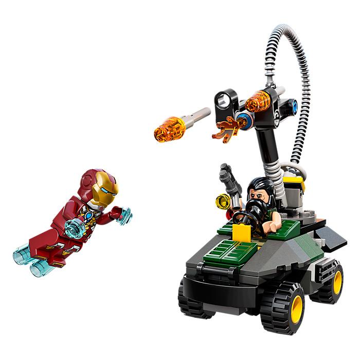 lego iron man instructions
