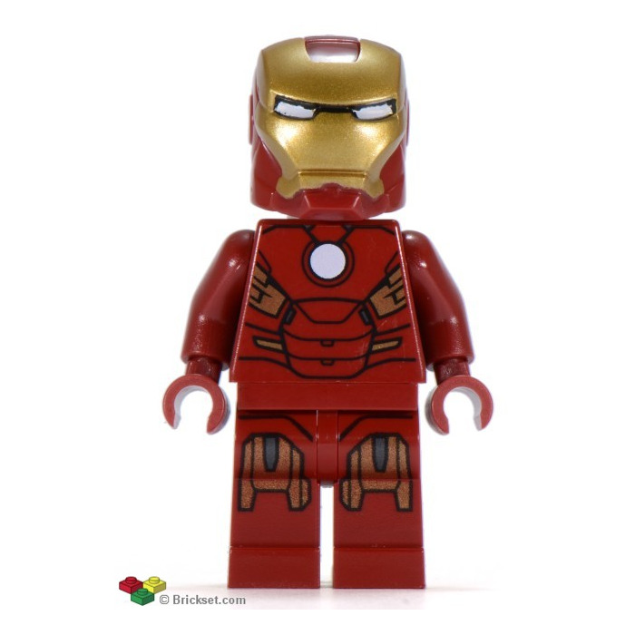 LEGO Iron Man With Circle On Chest Minifigure