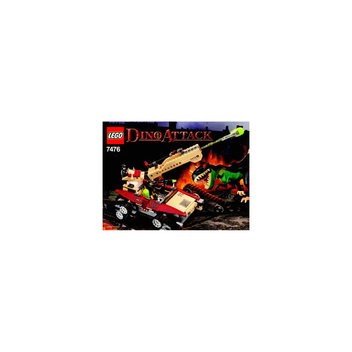 Lego Iron Predator Vs T Rex Set 7476 Instructions Brick Owl