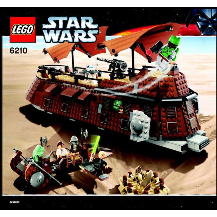 Lego star wars jabbas sail