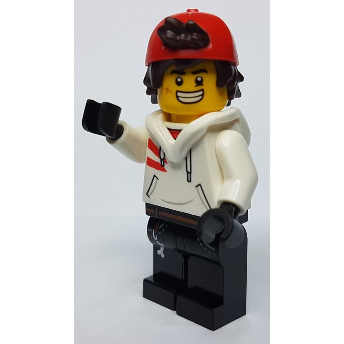Lego Hidden Side Jack Davids Mini Figure From Set 70432