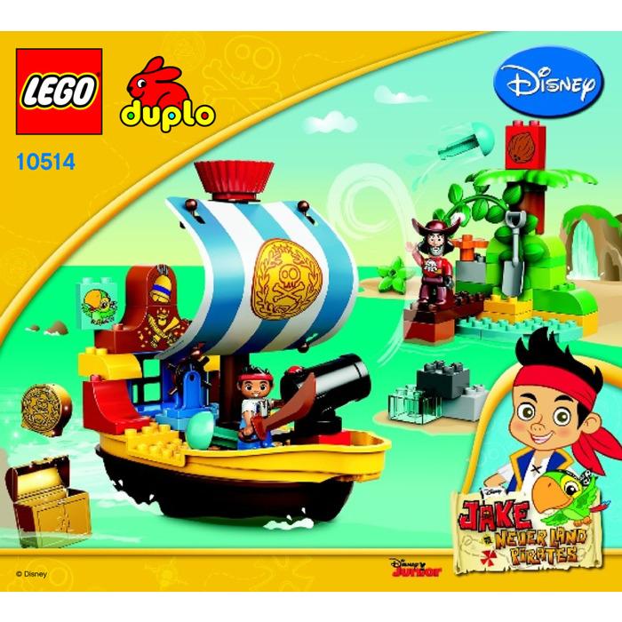Lego Jakes Pirate Ship Bucky Set 10514 Instructions Brick Owl