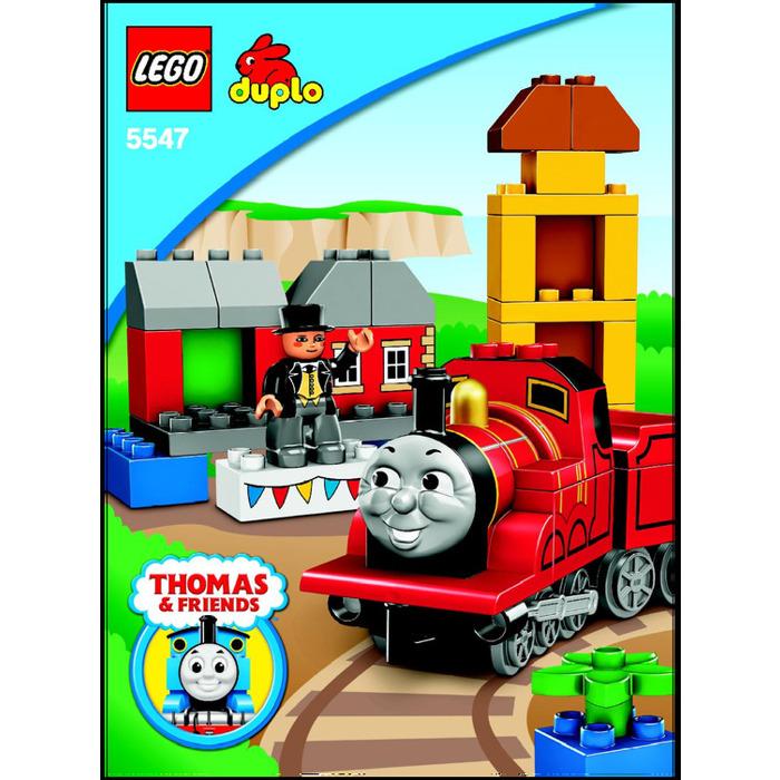 Lego James Celebrates Sodor Day Set 5547 Instructions Brick Owl