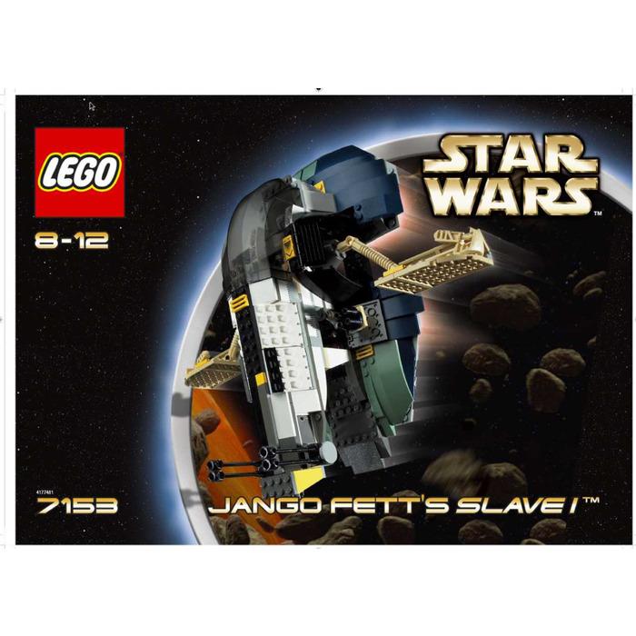 Lego Jango Fett Instructions Lego Jango Fett's Slave i Set