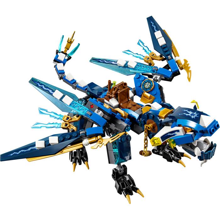 Lego jay 39 s elemental dragon set 70602 brick owl lego marketplace - Dragon ninjago lego ...