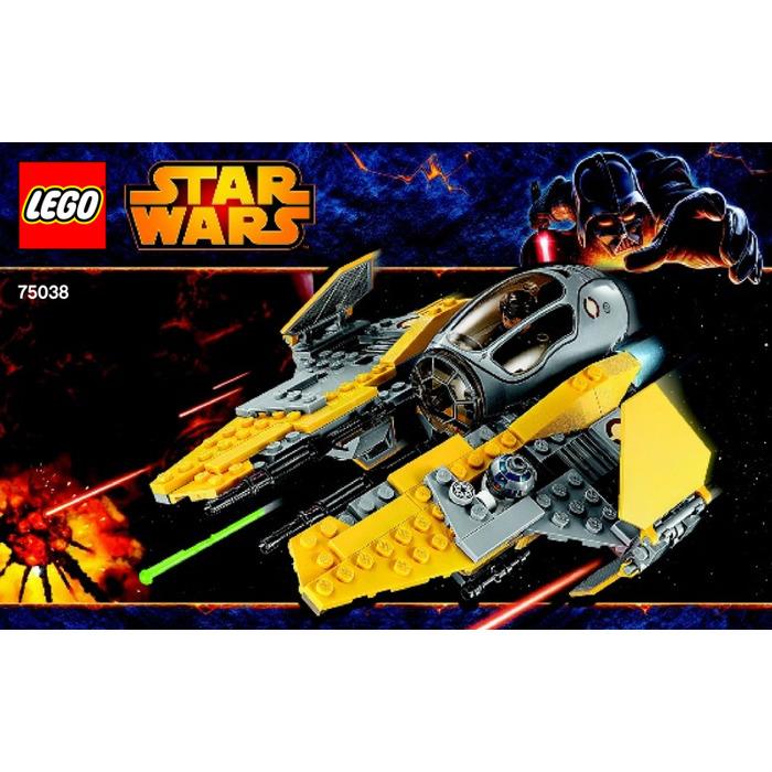 LEGO Jedi Interceptor Set 75038 Instructions | Brick Owl - LEGO ...