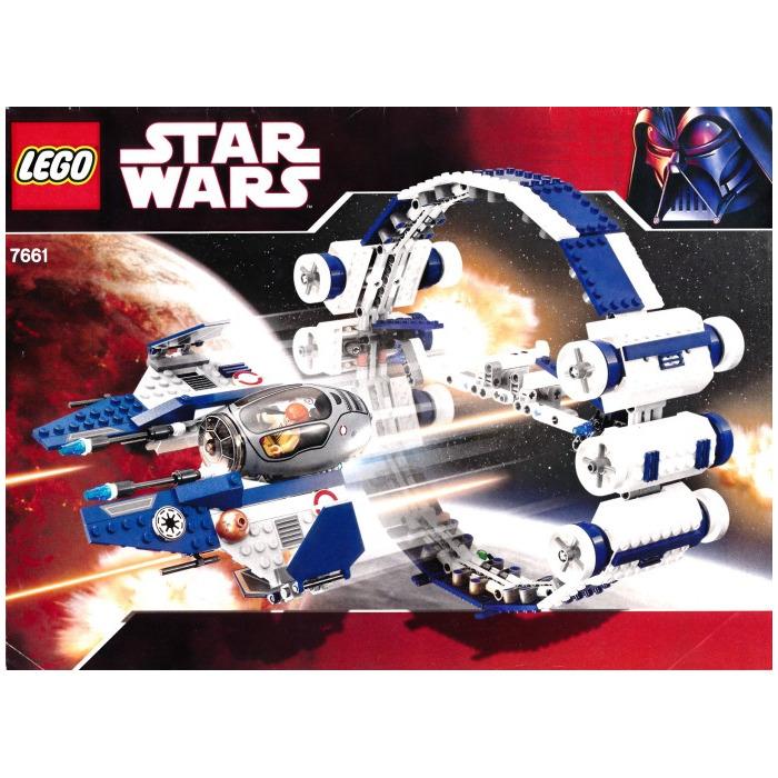 Lego Obi Wan S Jedi Starfighter Hyper Drive Boster Ring
