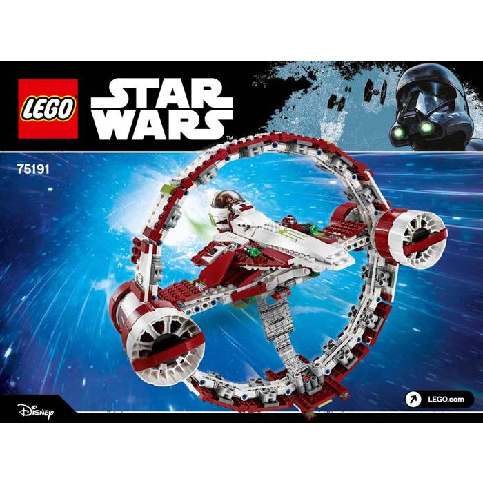 Lego Jedi Starfighter With Hyperdrive Set 75191 Instructions Brick