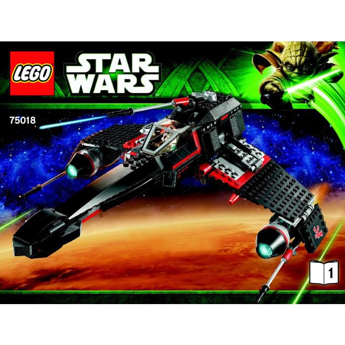 Lego Jek 14s Stealth Starfighter Set 75018 Instructions Brick Owl