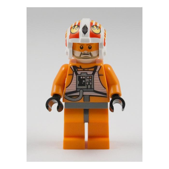 Lego Jek Porkins 9493 X-Wing Fighter Rebel Pilot Star Wars Minifigure