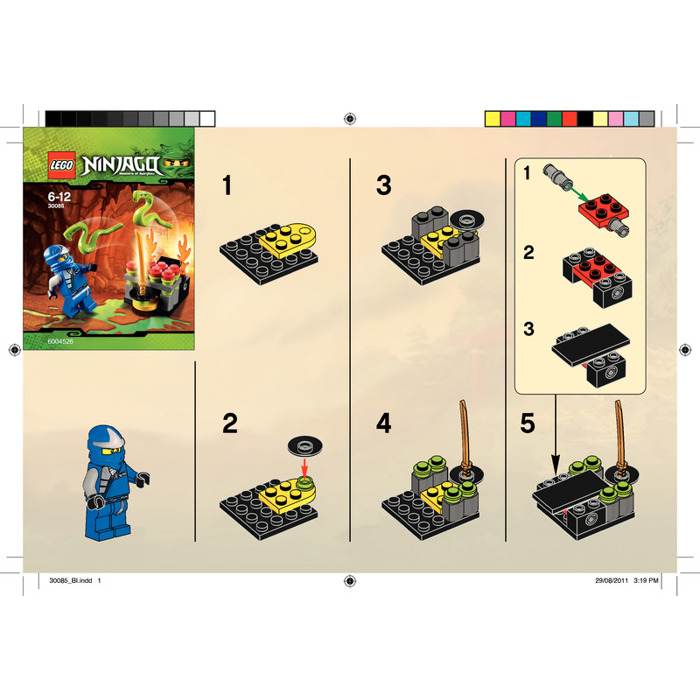 Lego Jumping Snakes Set 30085 Instructions Brick Owl Lego