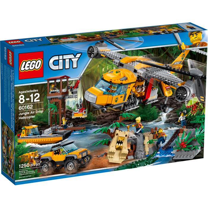 Lego jungle air drop helicopter set 60162 brick owl - Image lego city ...