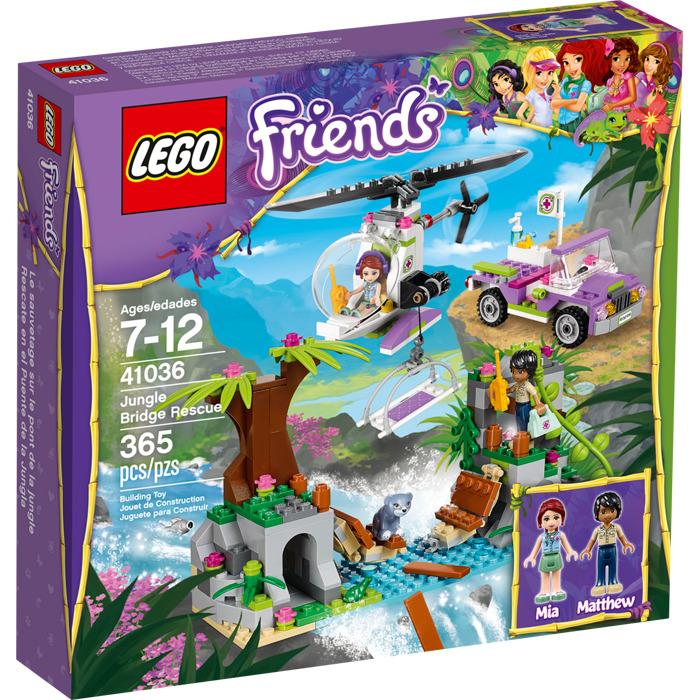 LEGO Jungle Bridge Rescue Set 41036   Brick Owl - LEGO ...