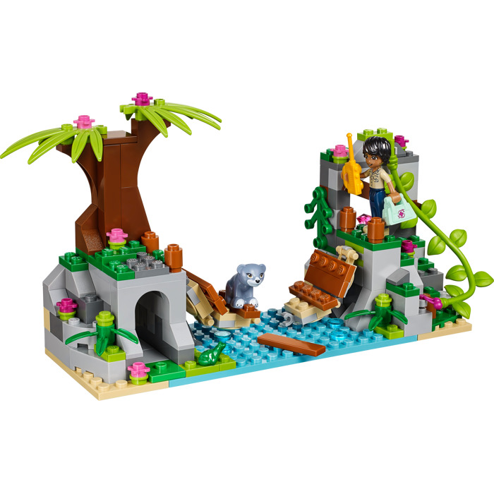 lego friends jungle bridge rescue instructions
