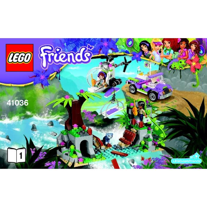 Lego Jungle Bridge Rescue Set 41036 Instructions Brick Owl Lego