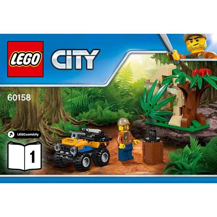 LEGO Jungle Cargo Helicopter Set 60158 Instructions   Brick Owl ...