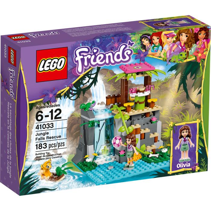 LEGO Jungle Falls Rescue Set 41033 Packaging | Brick Owl ...