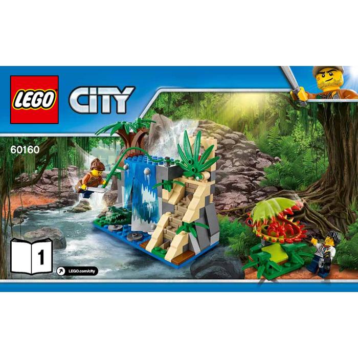 LEGO Jungle Mobile Lab Set 60160 Instructions   Brick Owl - LEGO ...