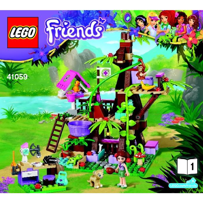 Lego Jungle Tree Sanctuary Set 41059 Instructions Brick Owl Lego