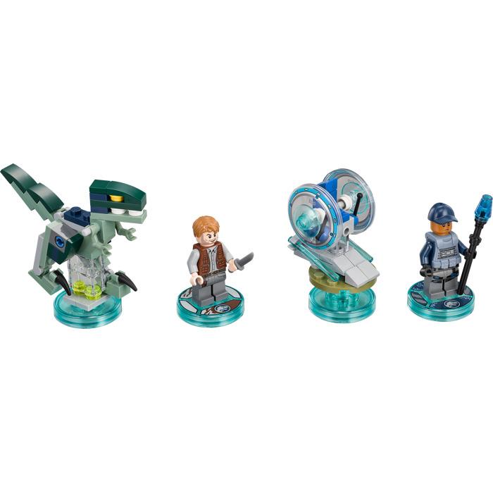 LEGO Jurassic World Team Pack Set 71205