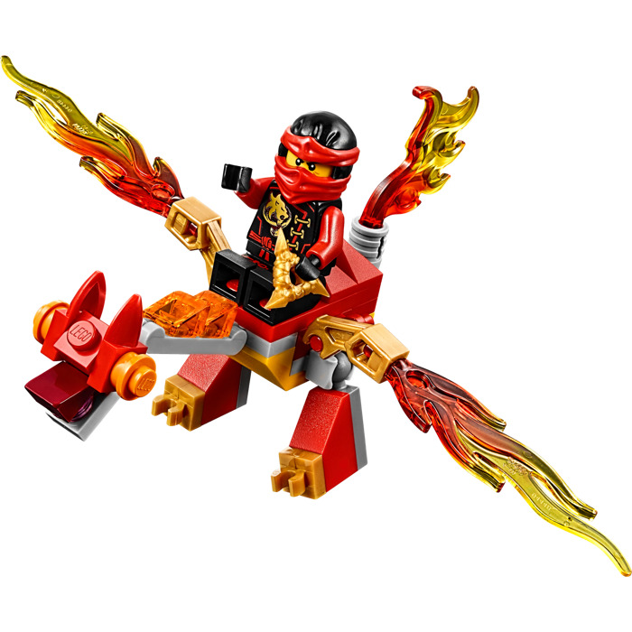 Lego kai 39 s mini dragon set 30422 brick owl lego marketplace - Dragon ninjago lego ...