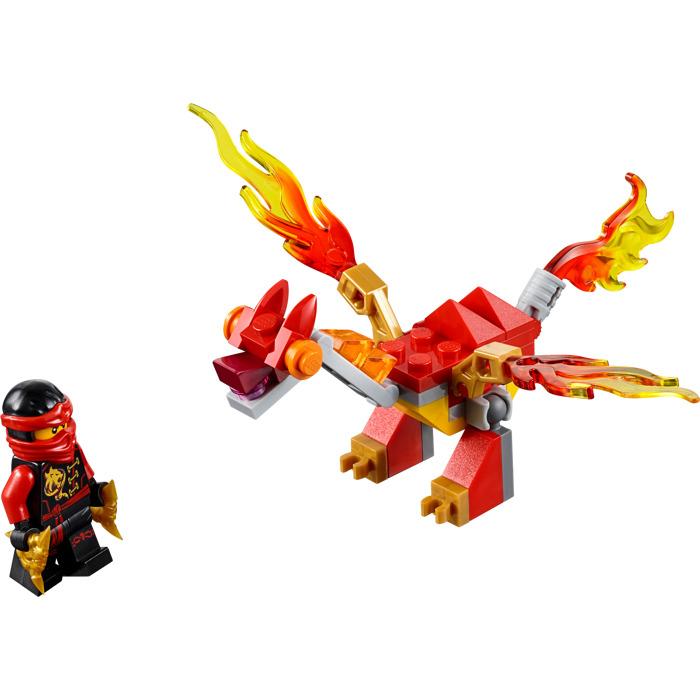 lego kai 39 s mini dragon set 30422 brick owl lego marketplace. Black Bedroom Furniture Sets. Home Design Ideas