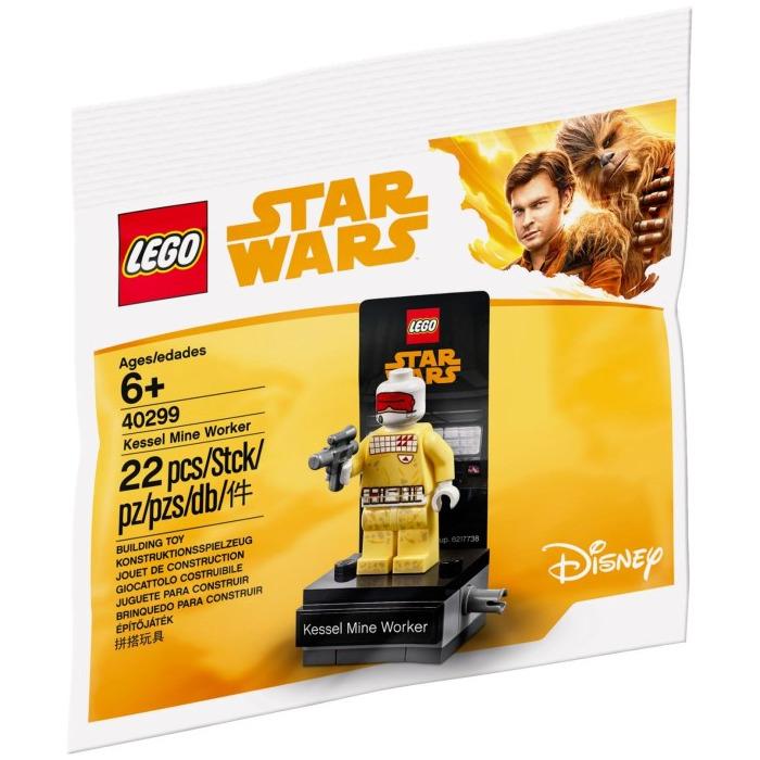 LEGO 40299 Star Wars KESSEL MINE WORKER Poly Bag Brand New Sealed
