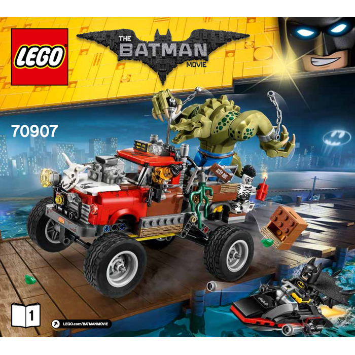 lego killer croc tail gator set 70907 instructions brick owl lego marketplace. Black Bedroom Furniture Sets. Home Design Ideas