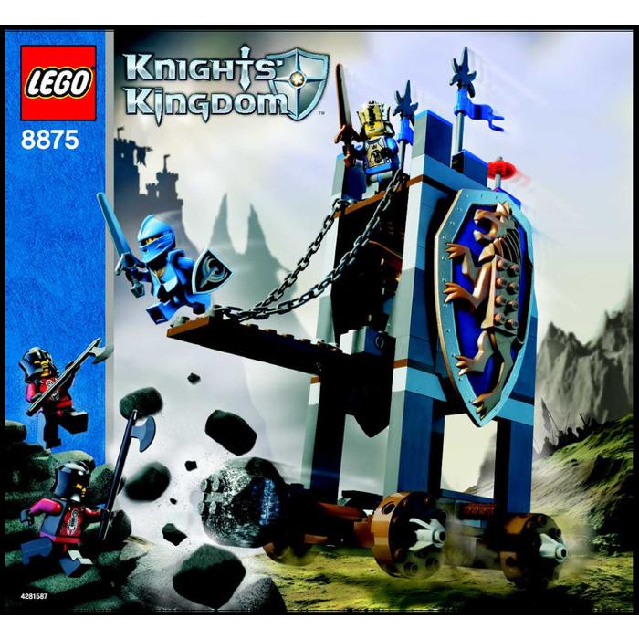 Lego Kings Siege Tower Set 8875 Instructions Brick Owl Lego