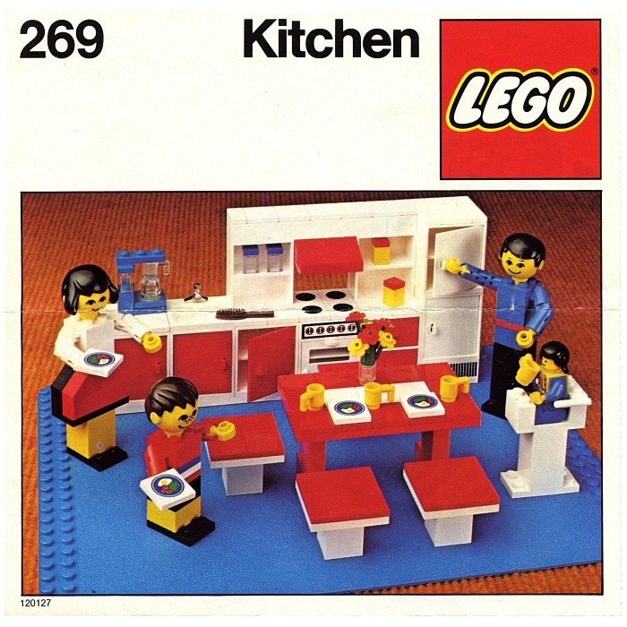 Lego kitchen set 269 brick owl lego marketplace for Kitchen set name