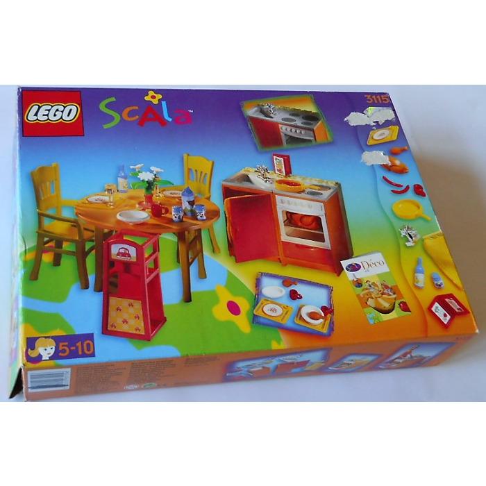 LEGO Kitchen Set 3115 Packaging