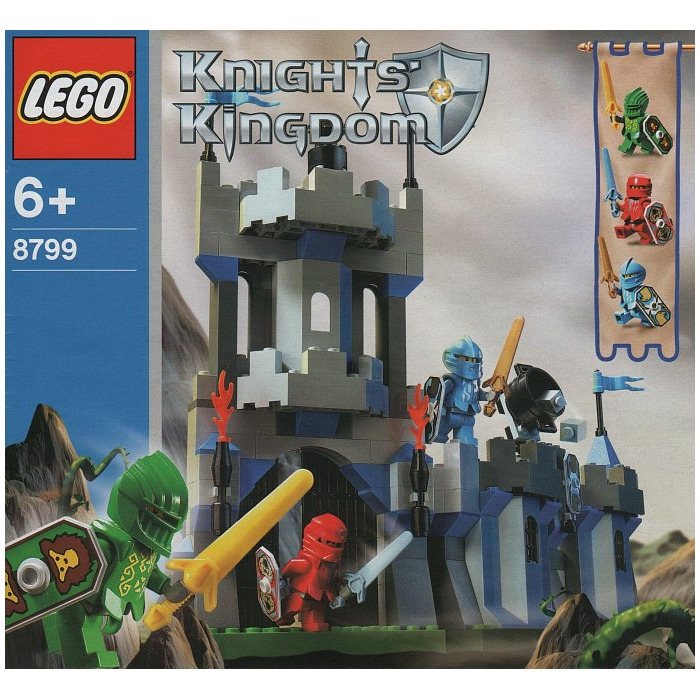Lego Knights' Castle Wall Set