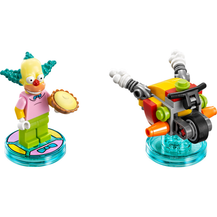 71227 New LEGO The Simpsons Krusty the Clown Minifigure From Sets 71005