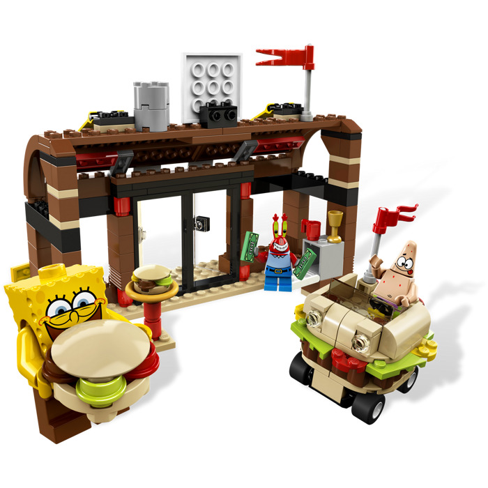LEGO Krusty Krab Adventures Set 3833 | Brick Owl - LEGO ...