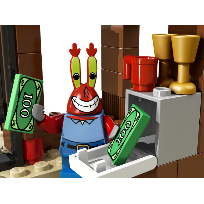 Lego Krusty Krab Adventures Set 3833 Brick Owl Lego Marketplace